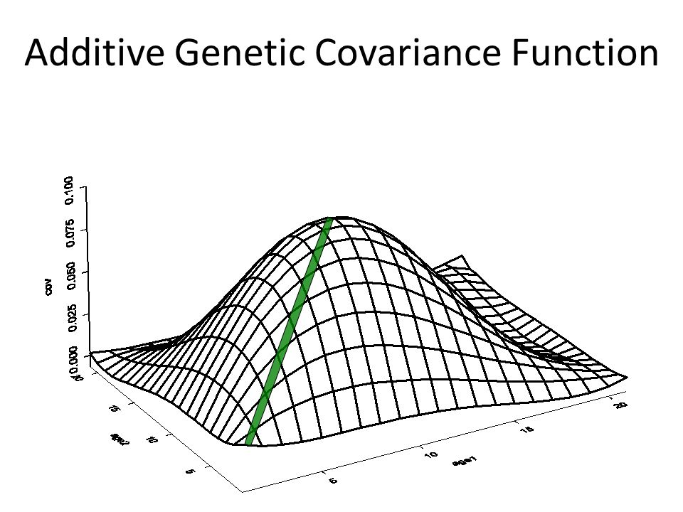 Additive Genetic Covariance Function
