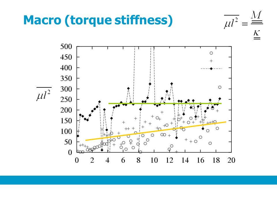 Macro (torque stiffness)