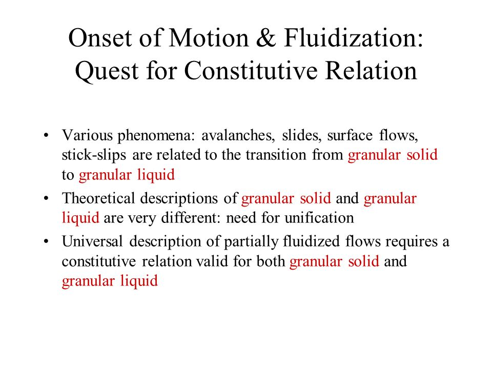 Heavy plate under external forcing – no gravity Equation of motion for the plate Constitutive relation Order parameter equation