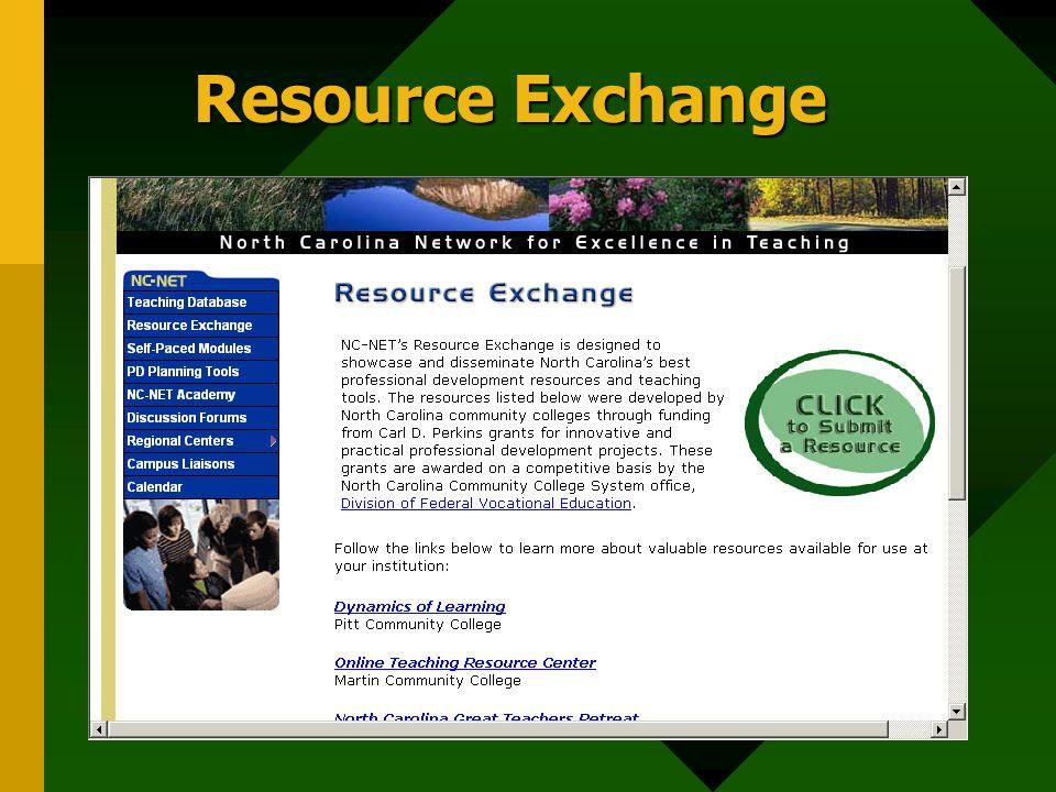 Resource Exchange