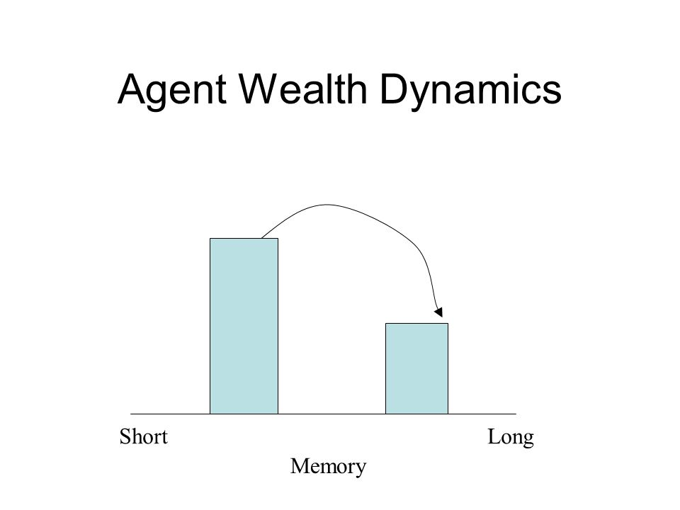 Agent Wealth Dynamics Memory ShortLong
