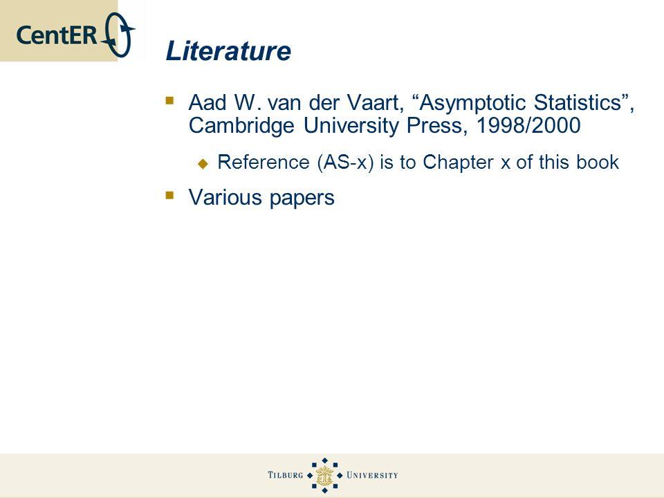 Literature Aad W.