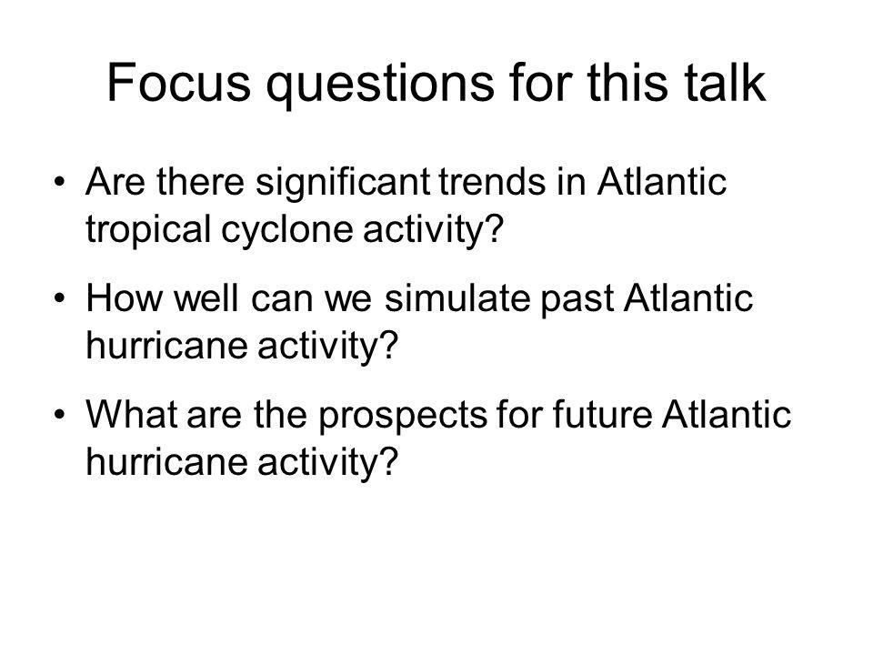21 st Century Atlantic Hurricane Activity.