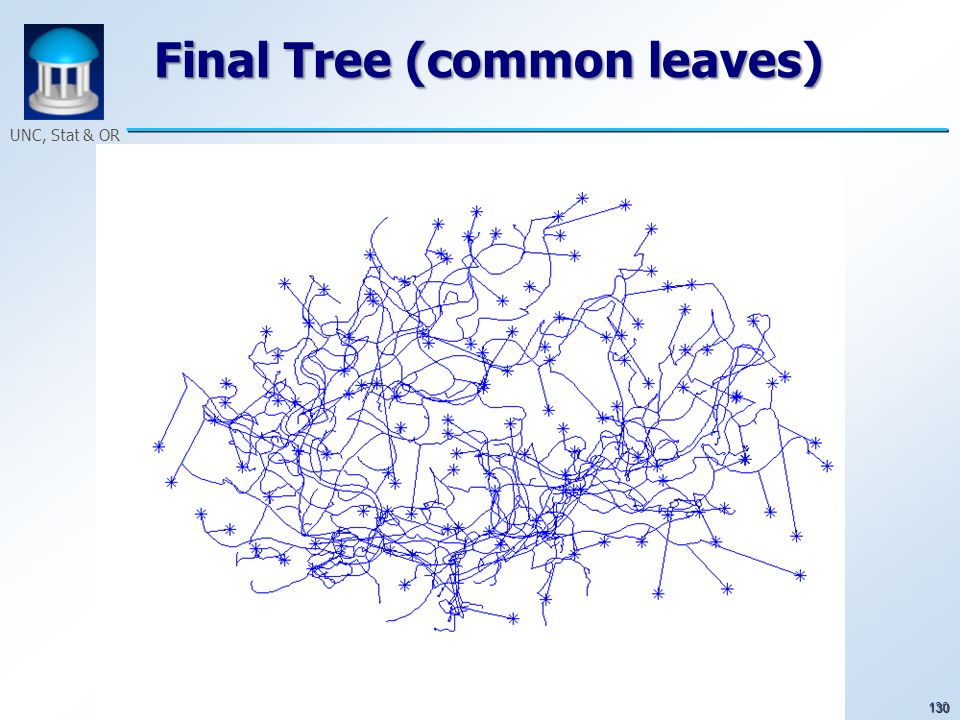 130 UNC, Stat & OR Final Tree (common leaves)