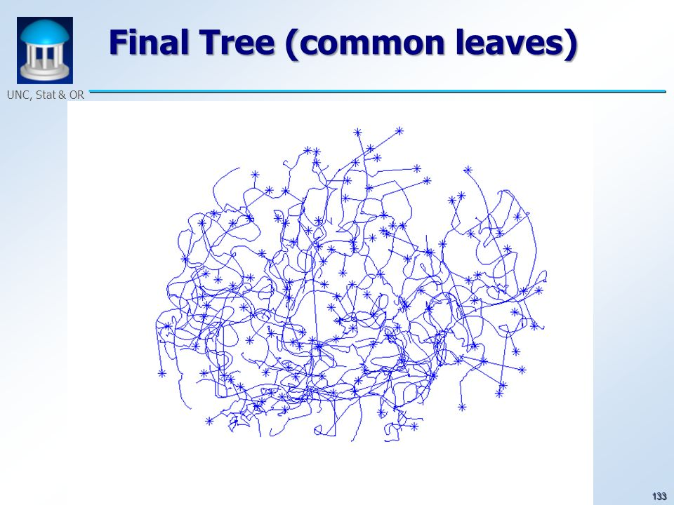 133 UNC, Stat & OR Final Tree (common leaves)