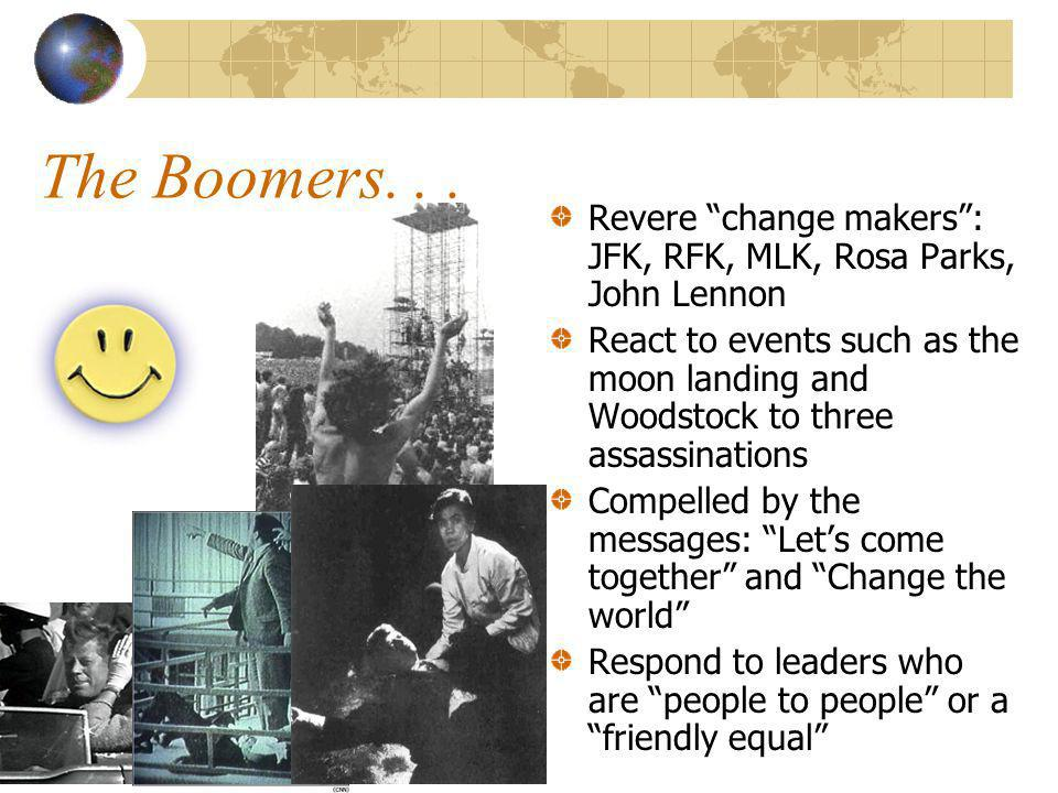 The Boomers...