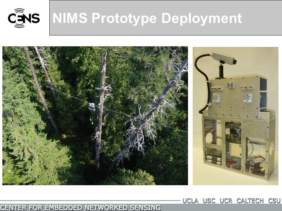 NIMS Prototype Deployment