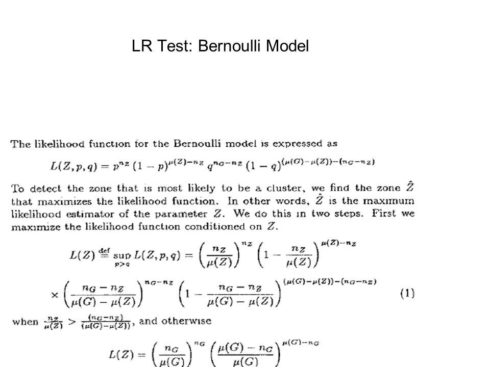 LR Test: Bernoulli Model