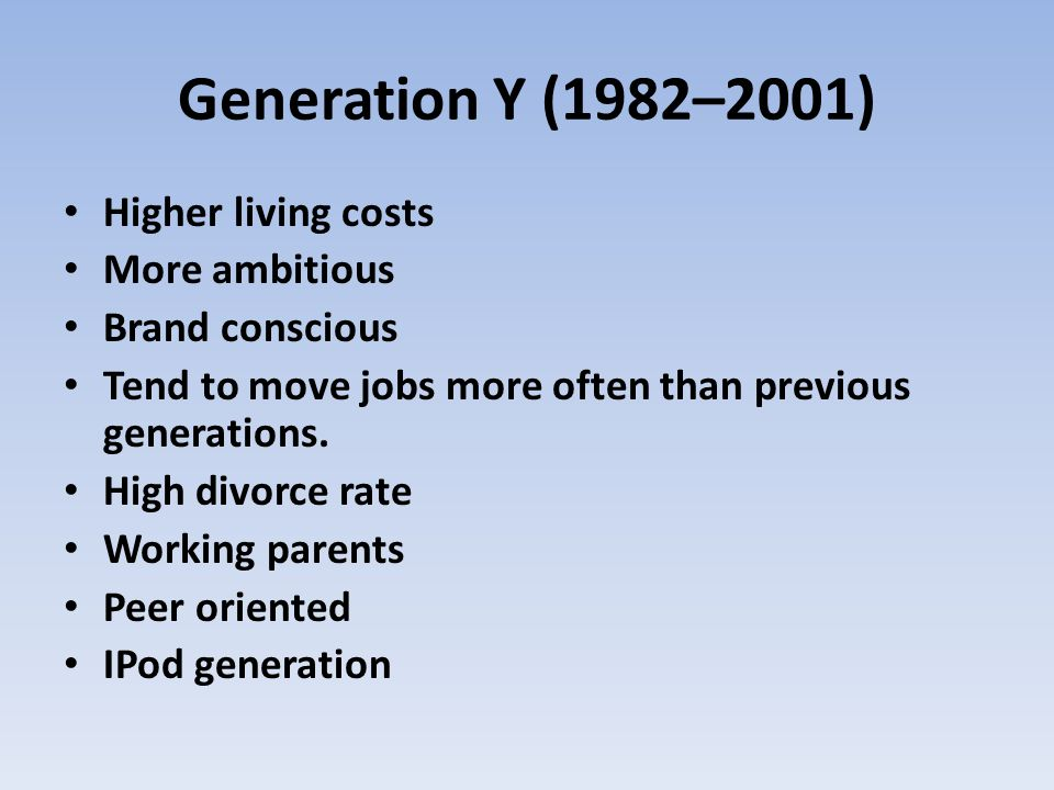 Generation Z (2001– present) If you think we have problems now, wait for Generation Z GOD HELP US For now lets worry about the iPOD generation