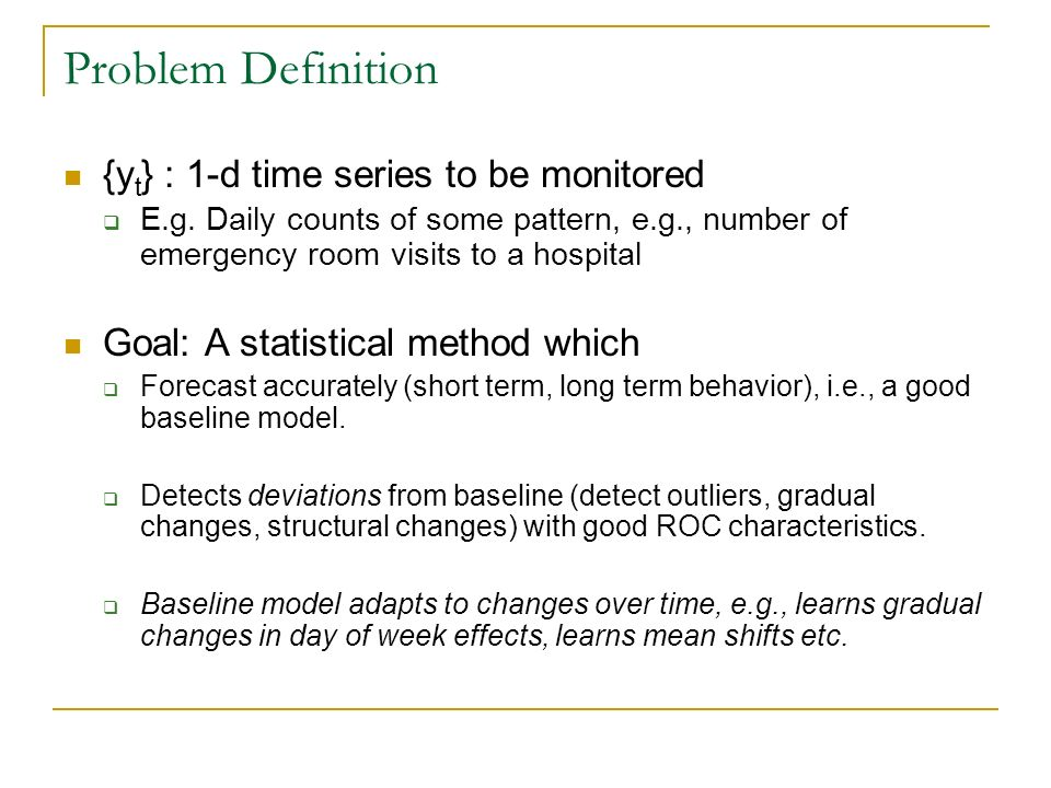 Non-normal models Observation model is one parameter exponential family.