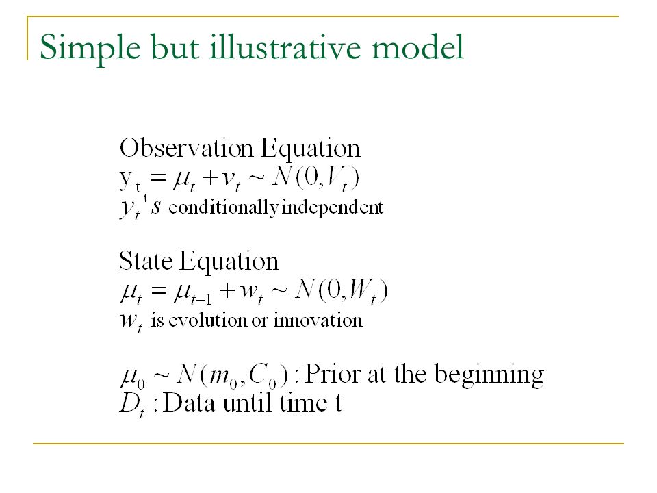 Kalman Filter update at time t: Bayes Rule