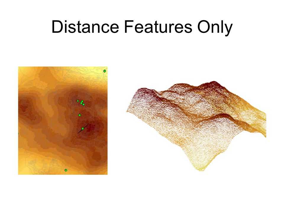Distance Features Only