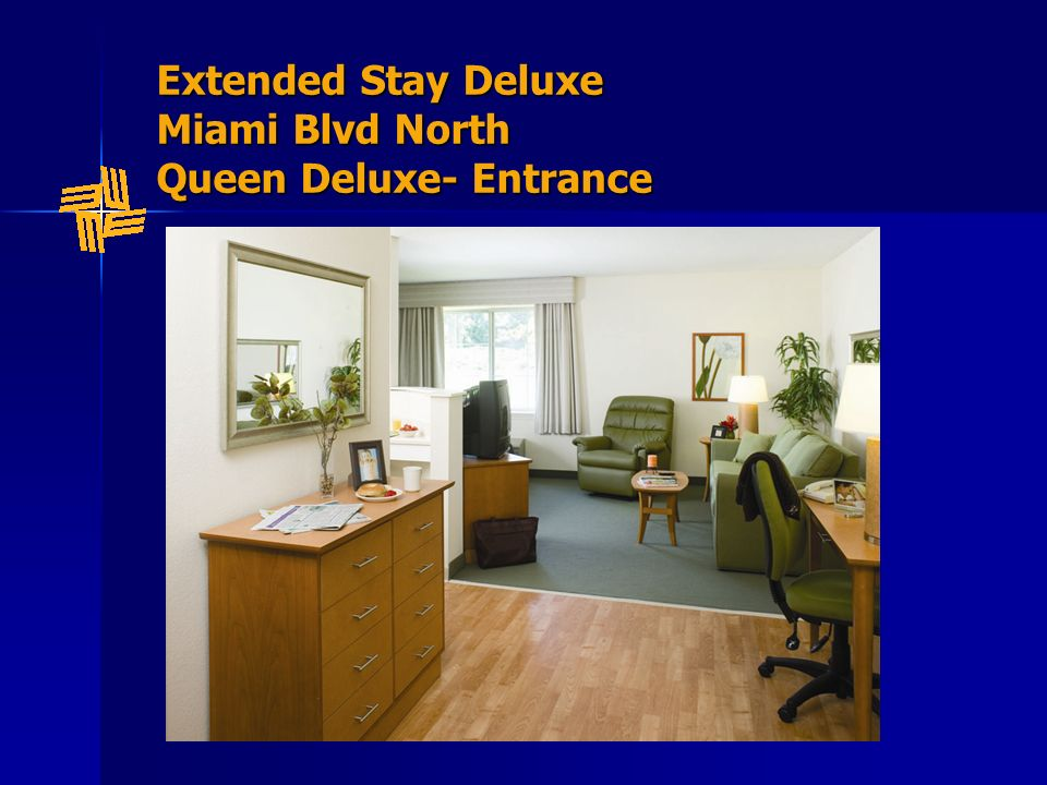 Extended Stay Deluxe Miami Blvd North Queen Deluxe- Entrance