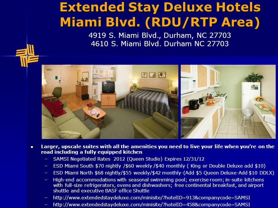 Extended Stay Deluxe Miami Blvd North- Queen Deluxe - Bedroom