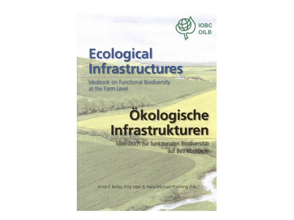 Book on Ecological Infrastructures Green and Yellow lists of control measures Database on Pesticide selectivity to natural enemies SESAME: Software for inspection THE IOBC IP TOOLBOX Tools to facilitate the implementation on IP by growers organizations