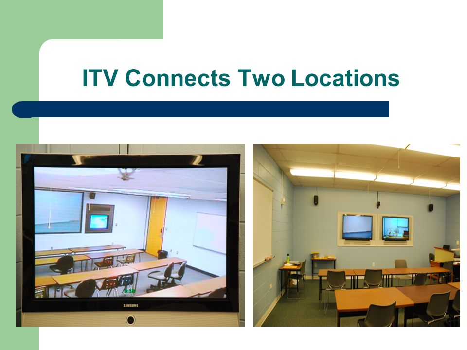 ITV Connects Two Locations