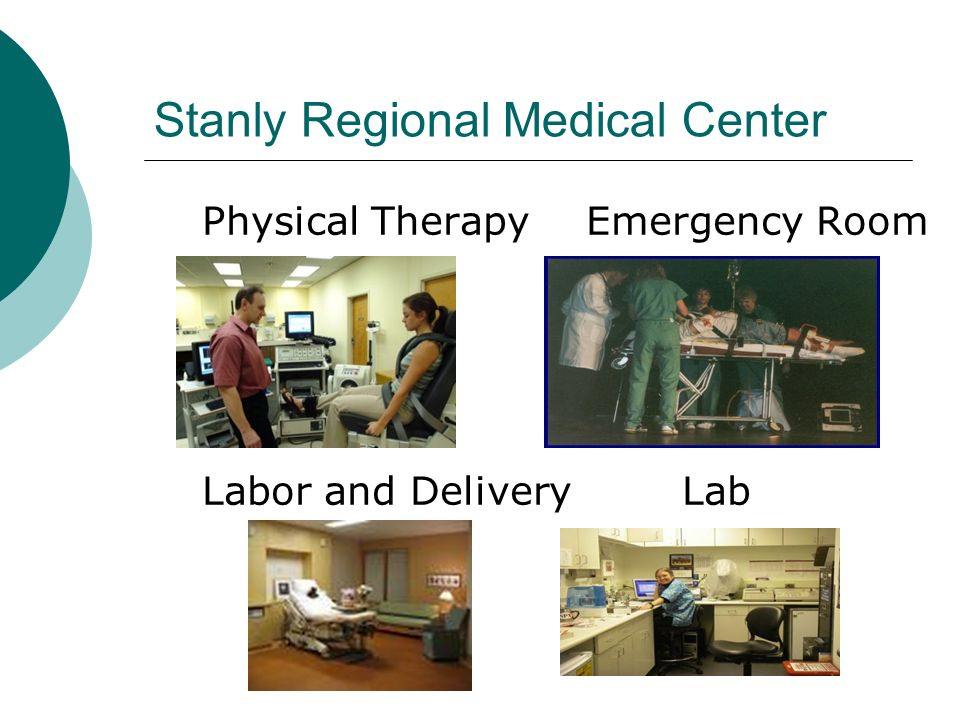 Stanly Regional Medical Center Physical TherapyEmergency Room Labor and DeliveryLab