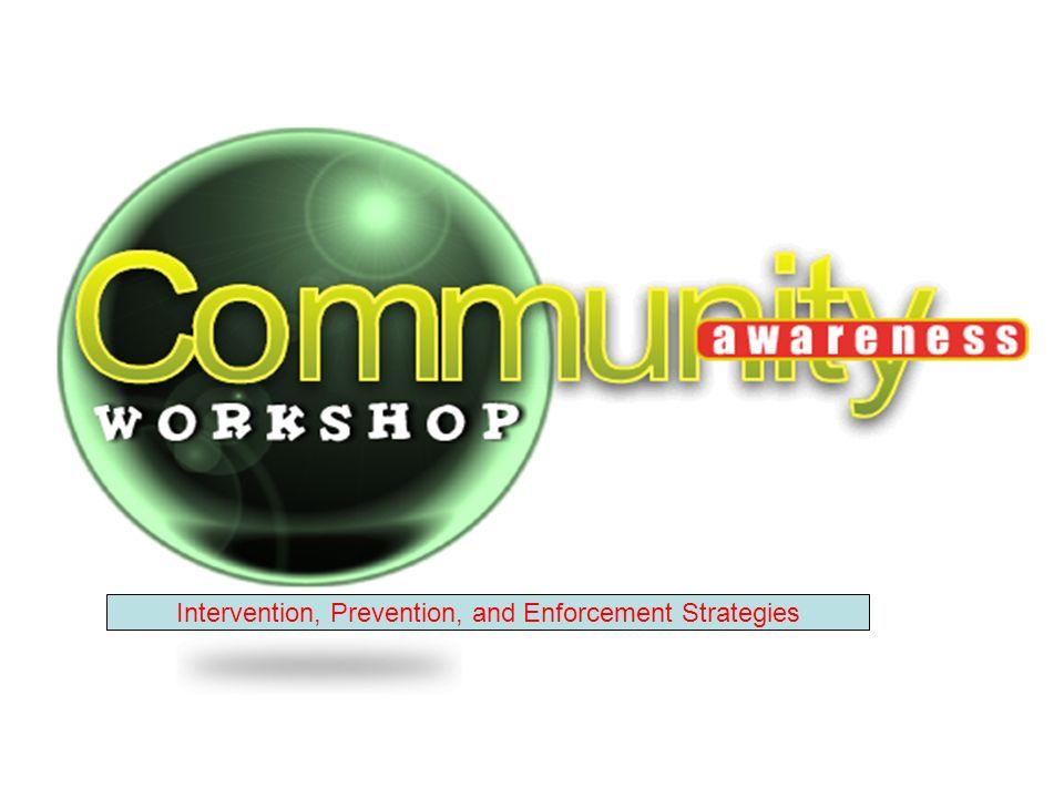 Intervention, Prevention, and Enforcement Strategies