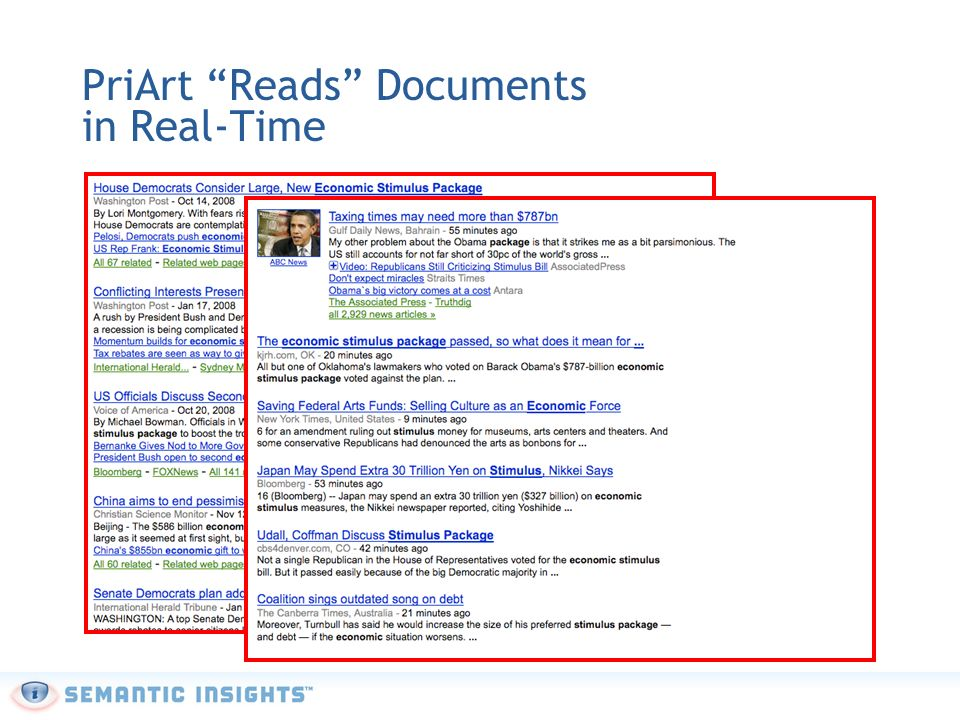 PriArt Reads Documents in Real-Time