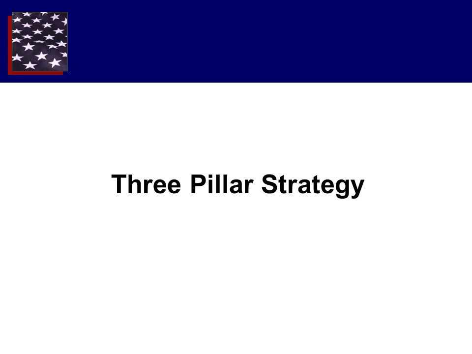 Three Pillar Strategy