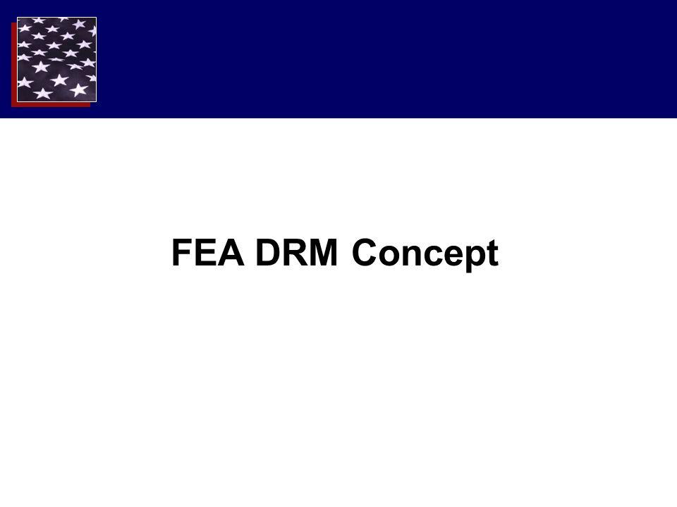 FEA DRM Concept