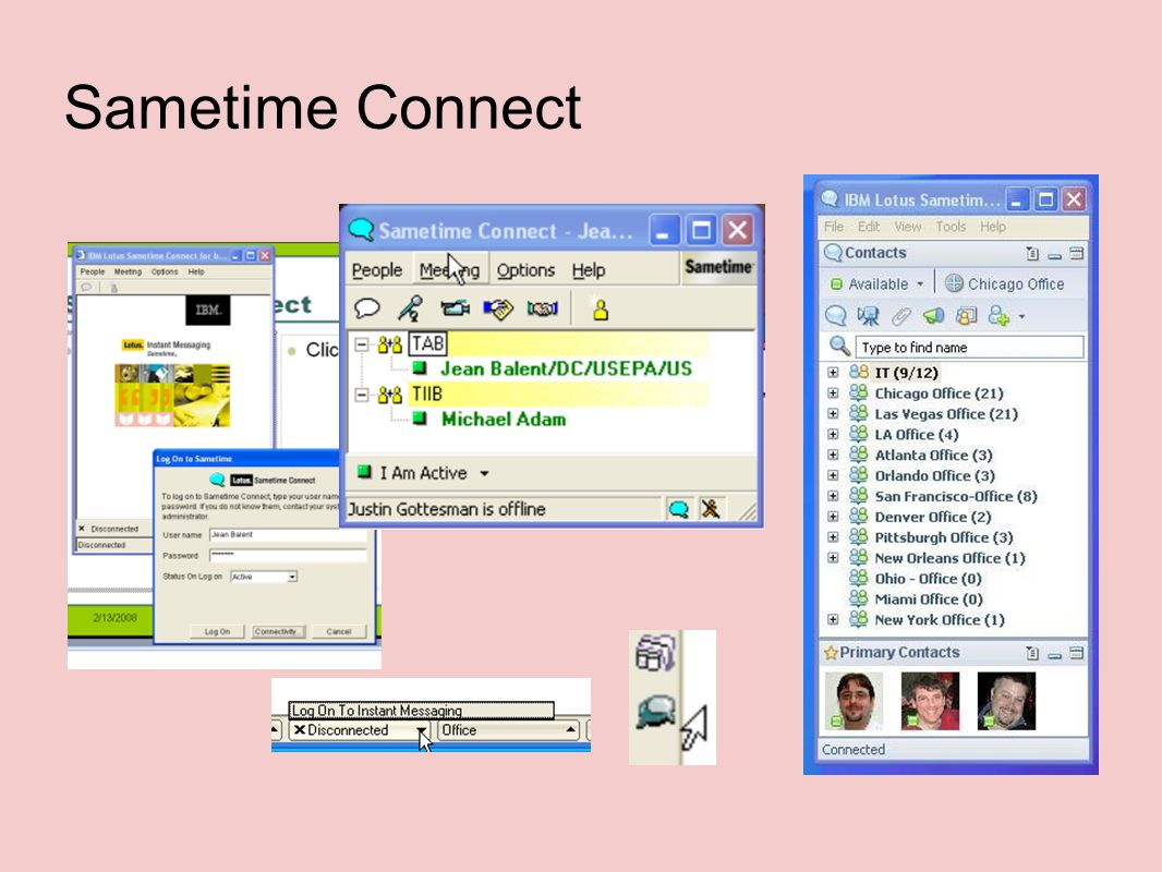 Sametime Connect
