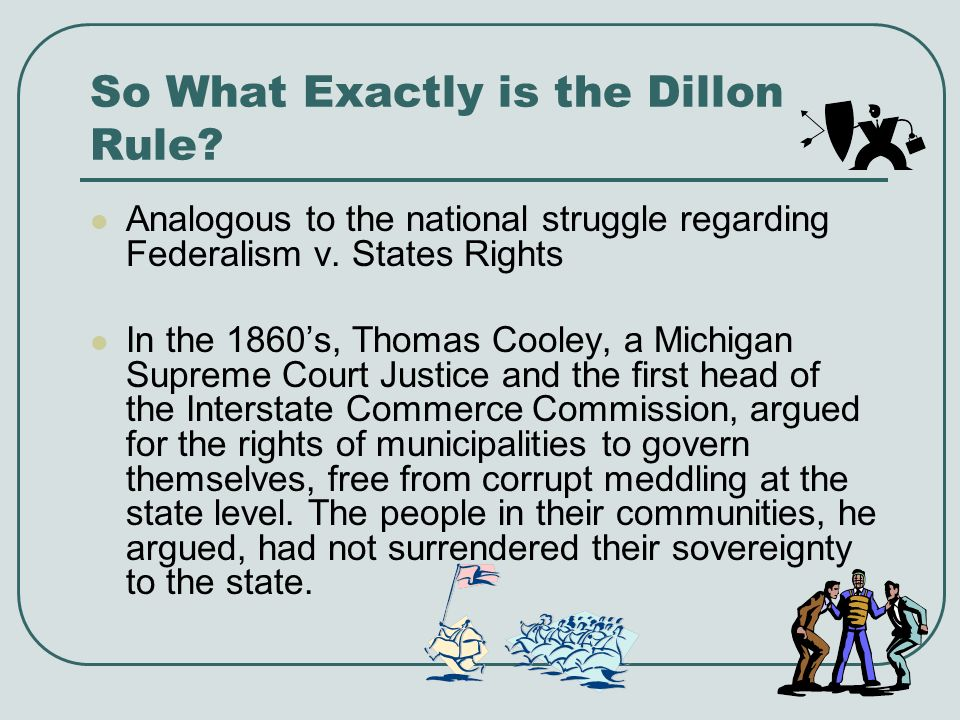 Dillon Rule vs.