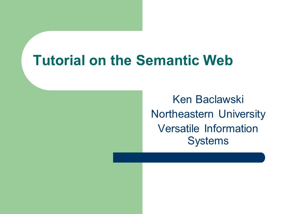 OWL Semantics An OWL ontology defines a theory of the world.