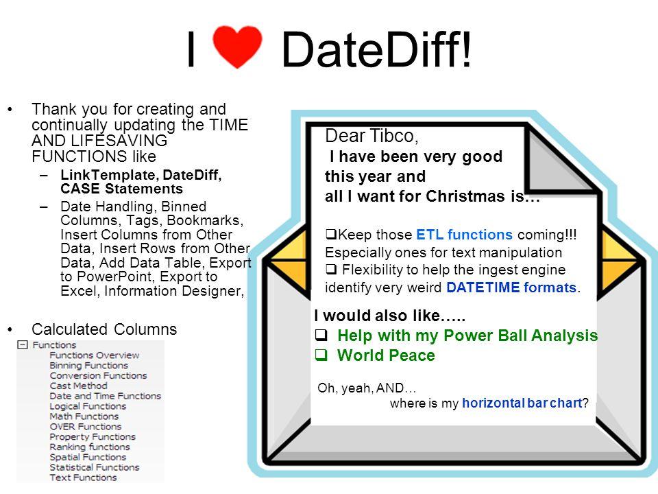 I DateDiff.