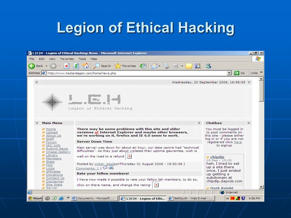 Legion of Ethical Hacking