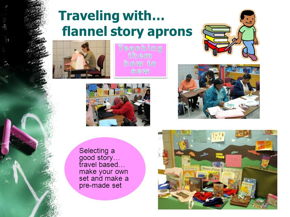Traveling with… flannel story aprons Selecting a good story… travel based… make your own set and make a pre-made set