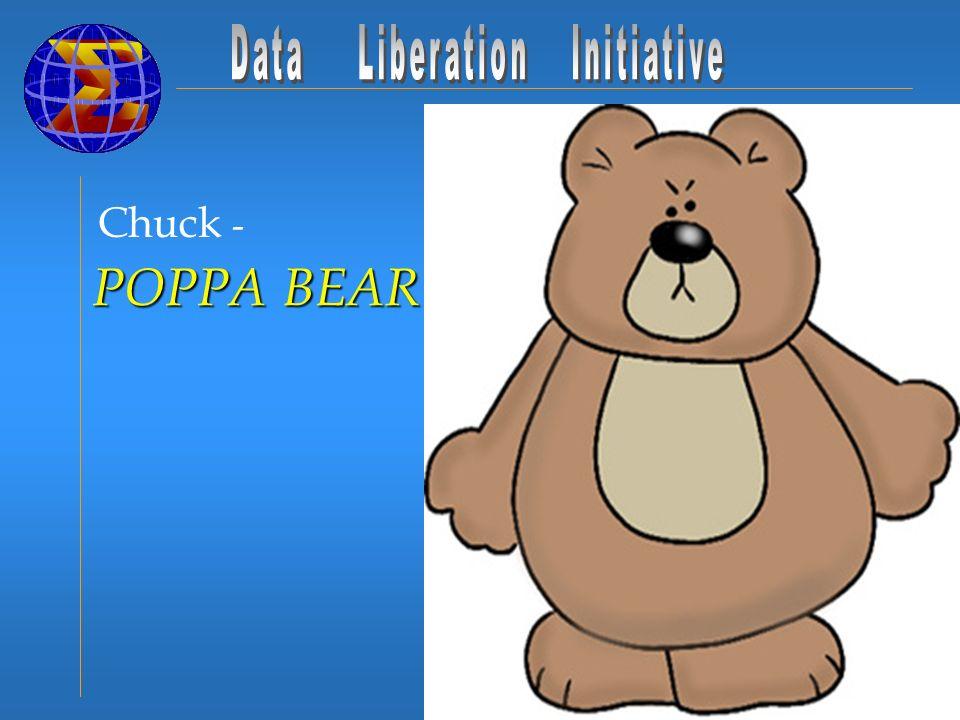 Chuck - POPPA BEAR