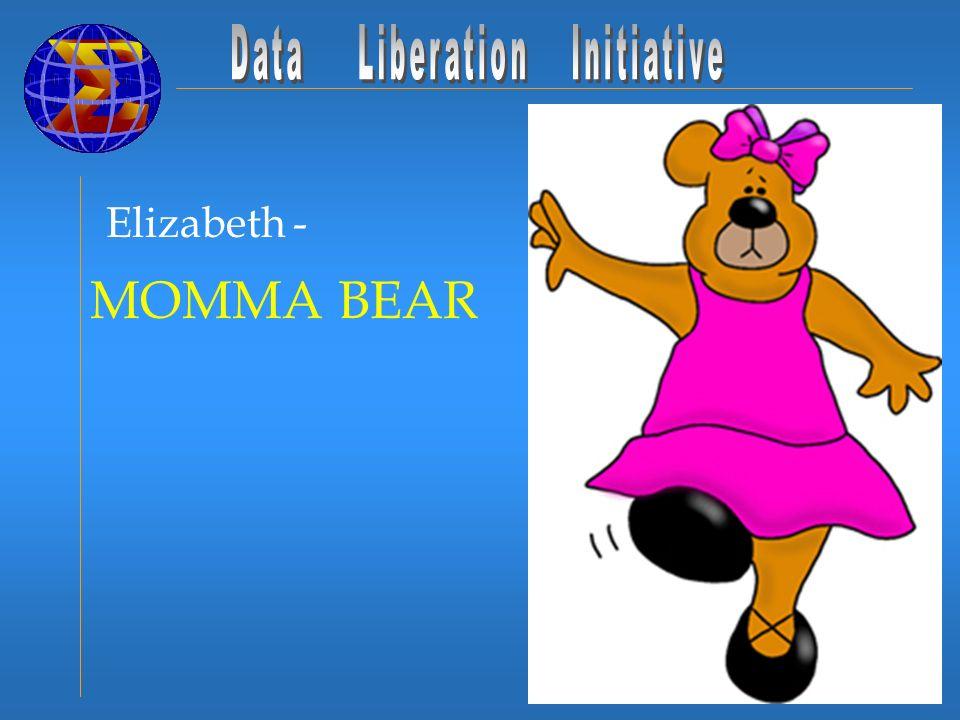 Elizabeth - MOMMA BEAR