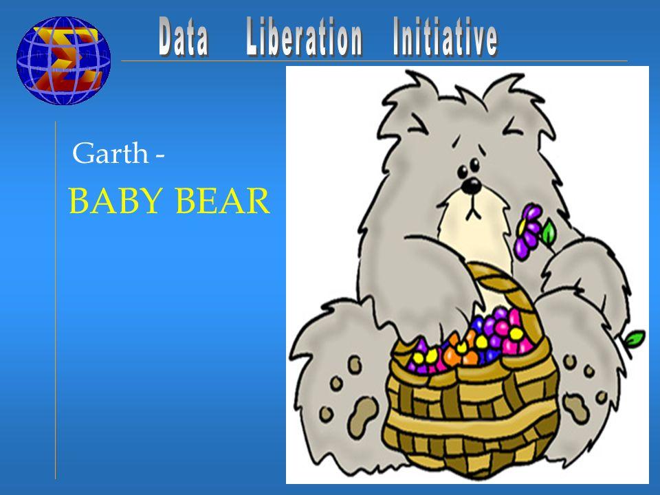 Garth - BABY BEAR