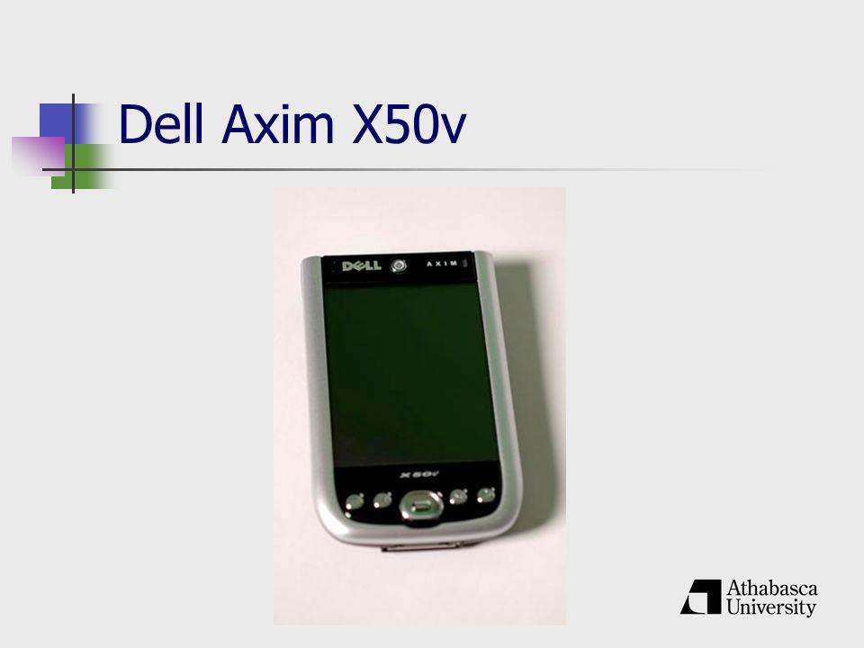 Dell Axim X50v