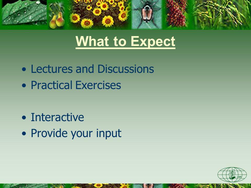 The International Plant Protection Convention (IPPC) Pest Risk Analysis (PRA) Training