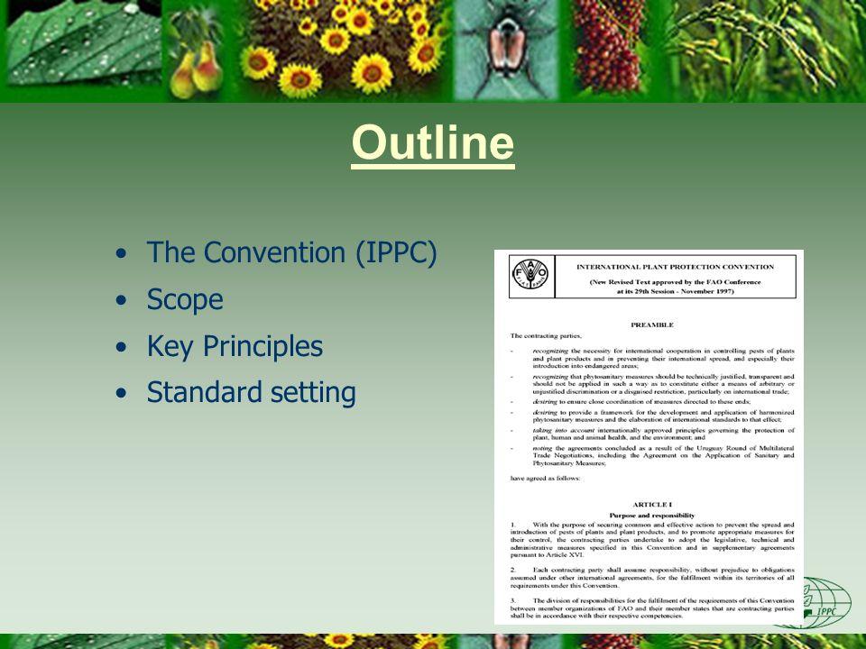 PRA-specific ISPMs ISPM No.2 –Framework for pest risk analysis (2007) ISPM No.