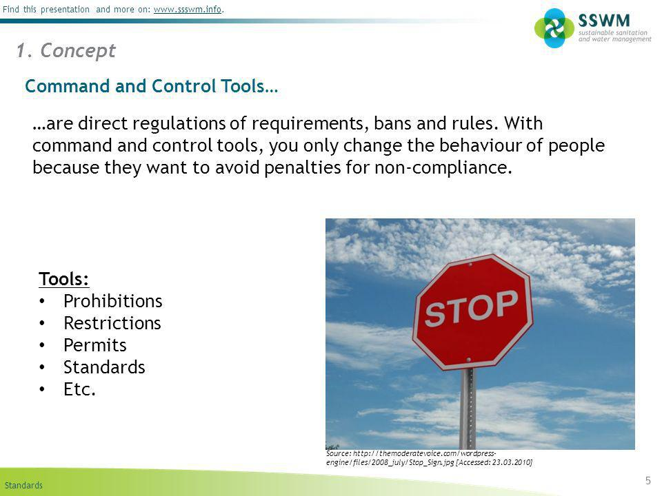 Standards Find this presentation and more on: www.ssswm.info.www.ssswm.info …are direct regulations of requirements, bans and rules. With command and