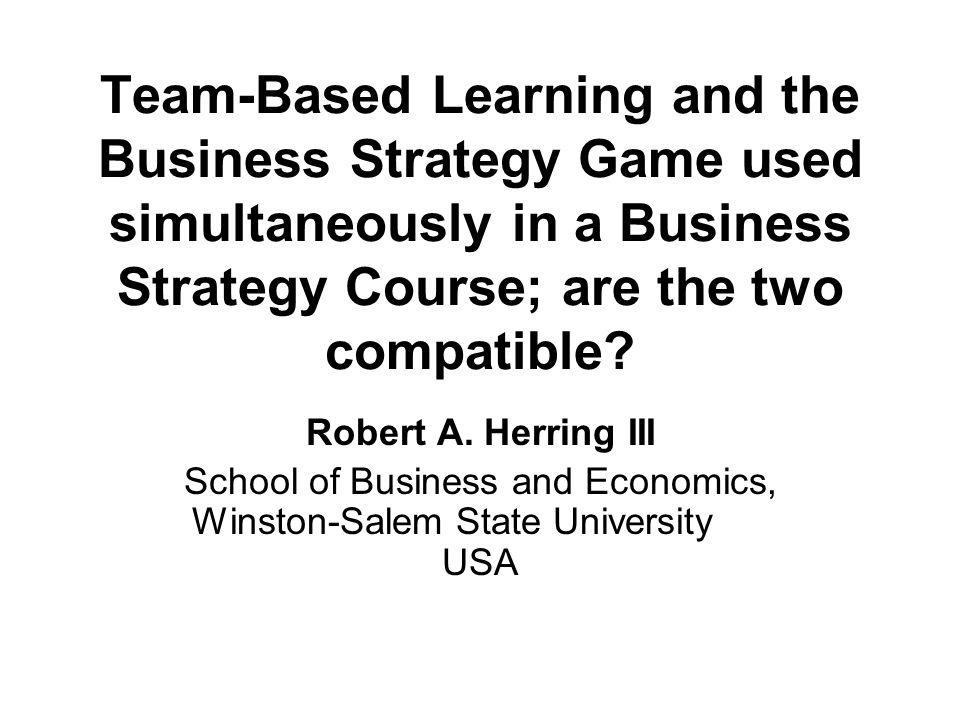 What Students Learn from playing the Business Strategy Game Running the athletic footwear company in head-on competition with rivals gives students a chance to put into play the very kinds of things they are reading in the text about crafting and executing strategy in a globally competitive marketplace.