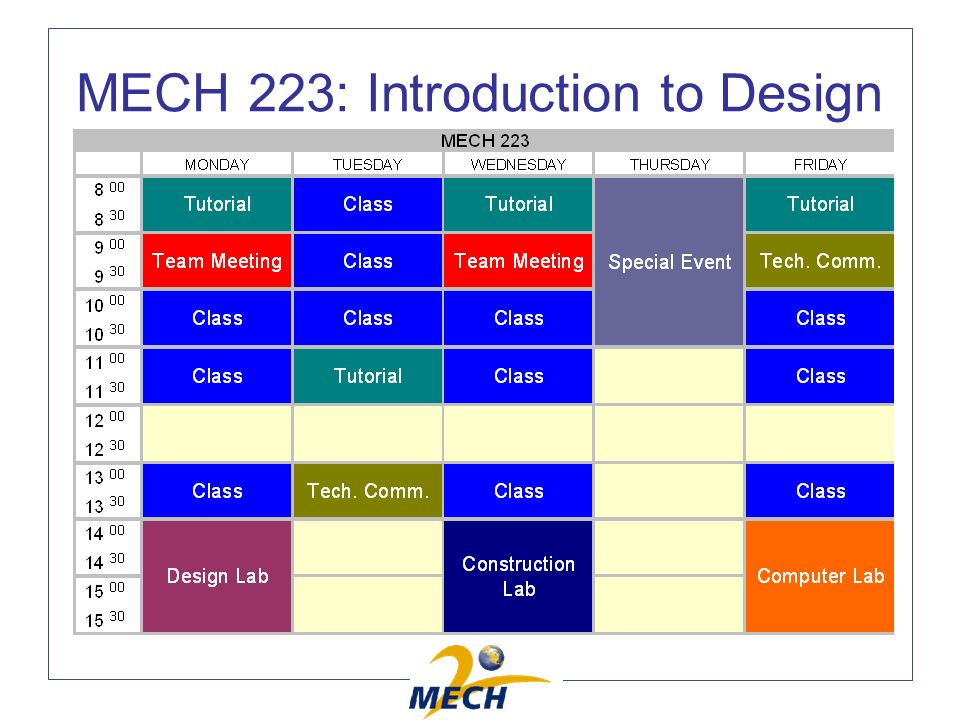 MECH 223: Introduction to Design