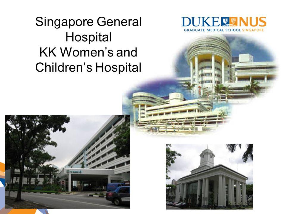 Singapore General Hospital KK Womens and Childrens Hospital