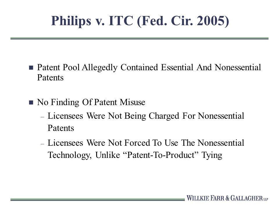 Philips v. ITC (Fed. Cir.