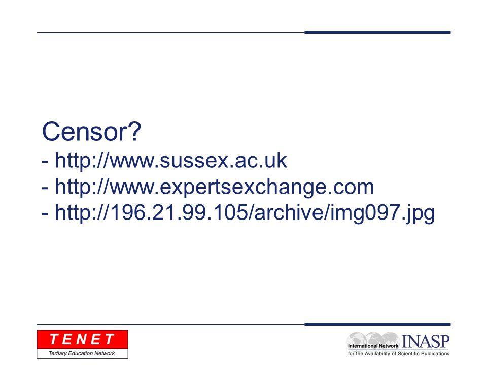 Censor.