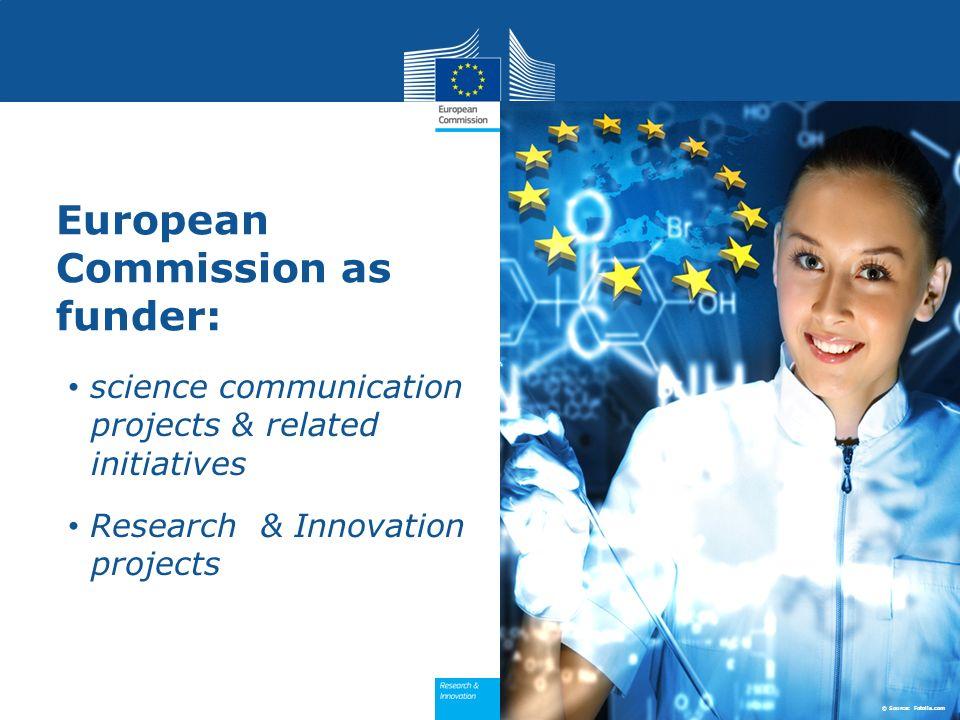Political communication: initiatives Horizon 2020
