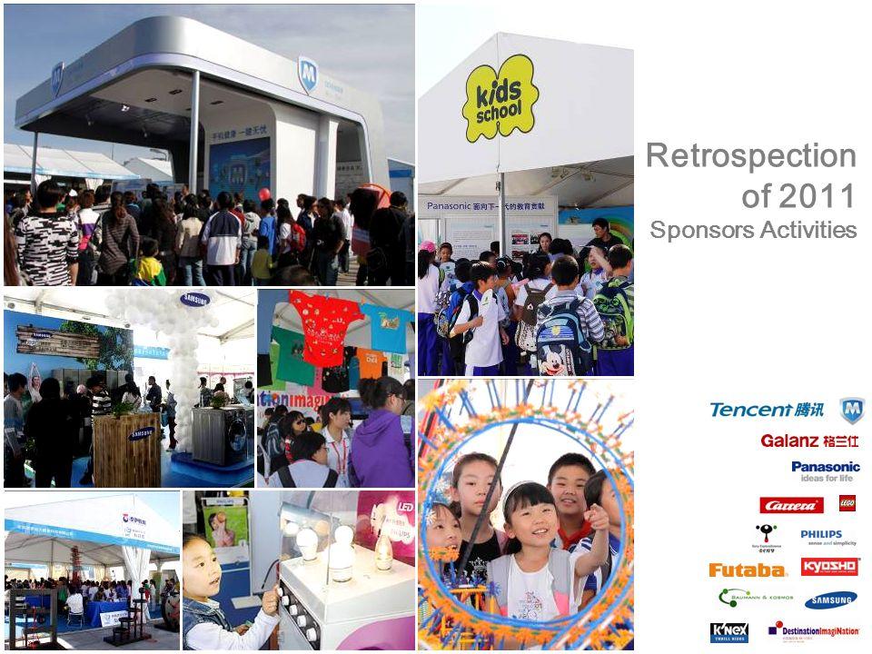 Retrospection of 2011 Sponsors Activities