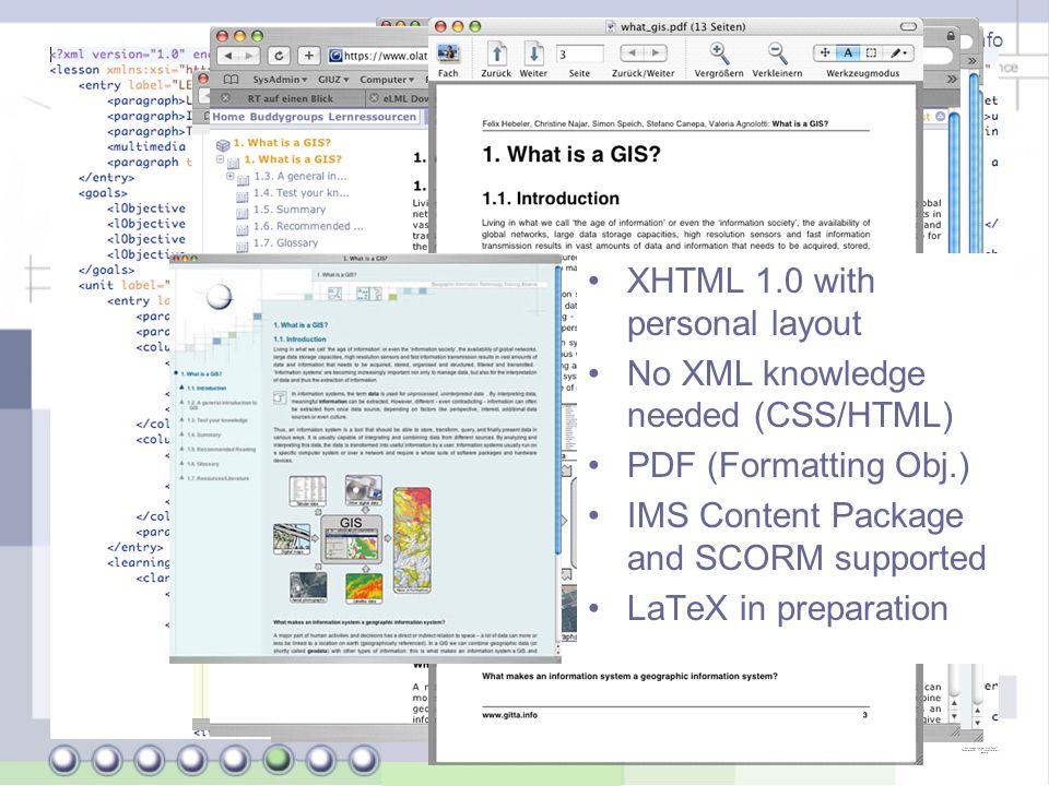 Joël Fisler (University of Zurich) - http://www.gitta.info Why use GITTA lessons.