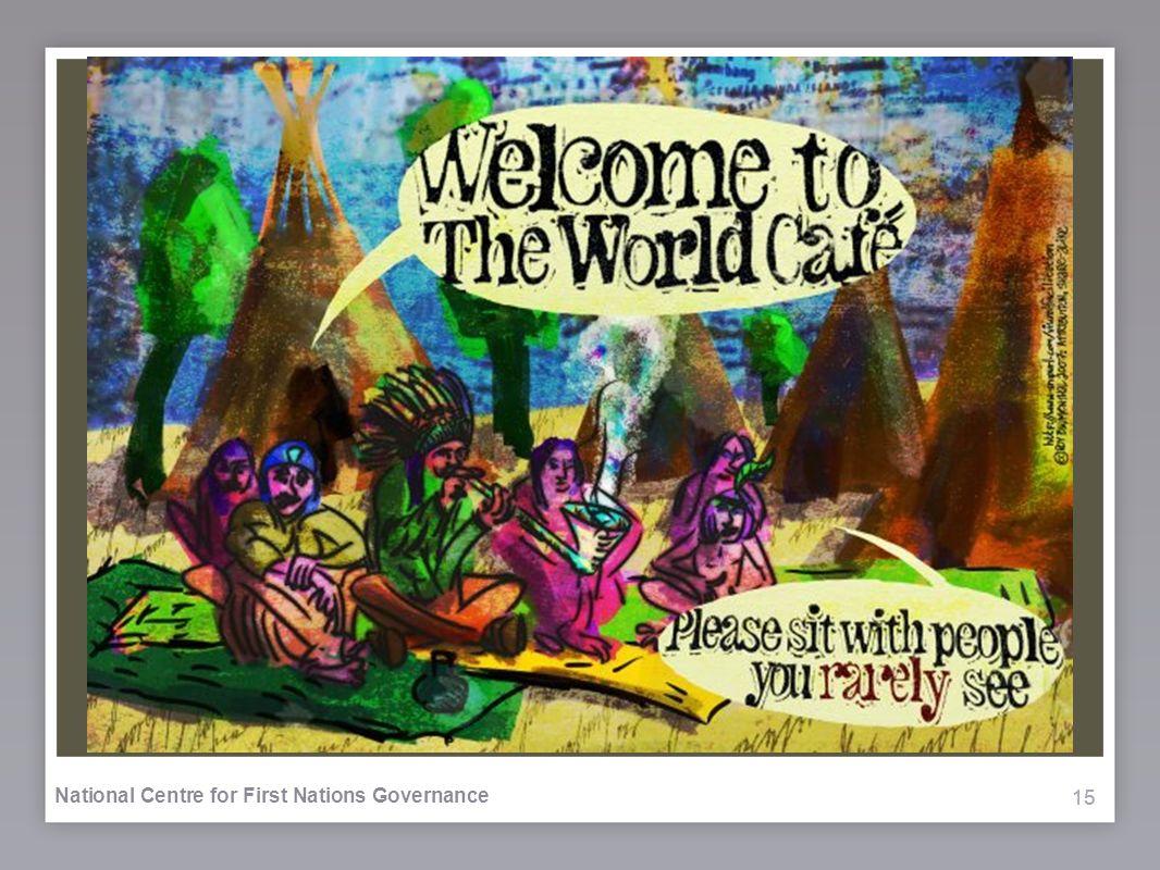 15 National Centre for First Nations Governance World Café