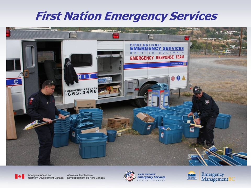 Government of Canadas Role Emergencies are handled primarily by the municipalities/provinces/territories.