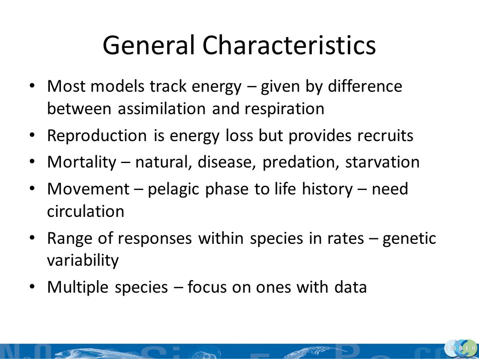 Concluding Remarks Understanding and tools allow consideration of interactions of ecology, biology and genetics Shellfish models are extendable to other invertebrate species – understand species and have data Consider combined effects of environment, growth, behavior in projections of effects of climate change
