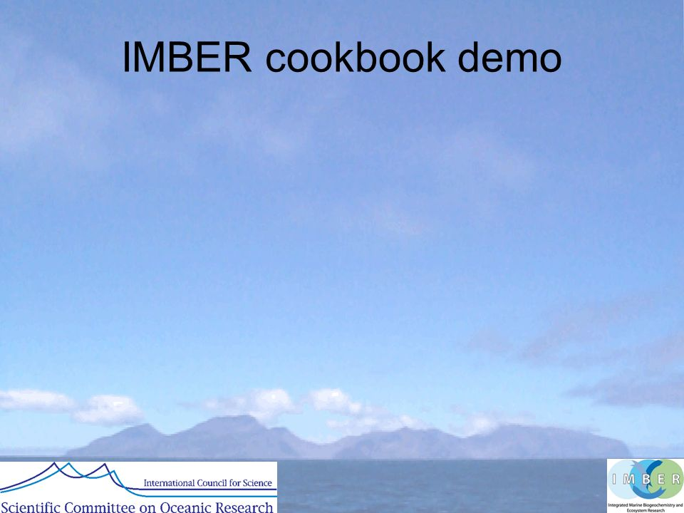 IMBER cookbook demo